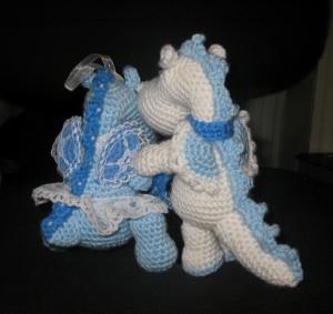 Дракончики Снежок и Снежинка