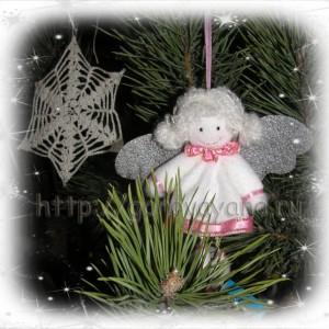 новогодние игрушки - ангел