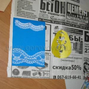 мастер класс - пасхальные открытки