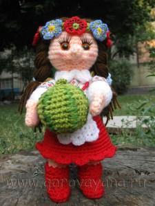 кукла украинка