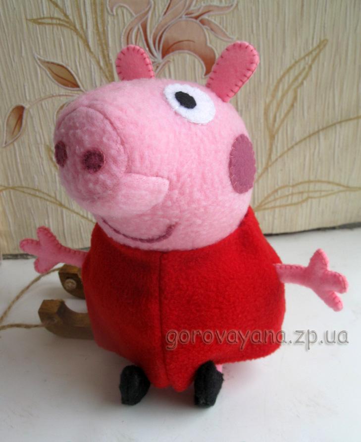 Свинка пеппа сшить своими руками выкройка