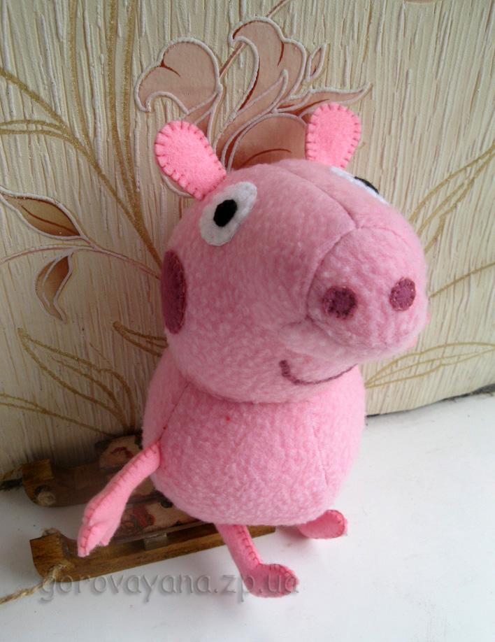 Креативные Как сшить свинку пеппу своими руками