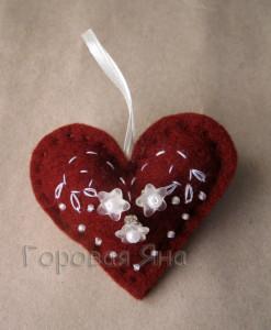сердечко- валентинка